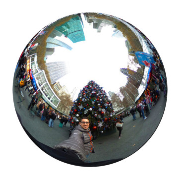 360° Video: Bryant Park Holiday Market