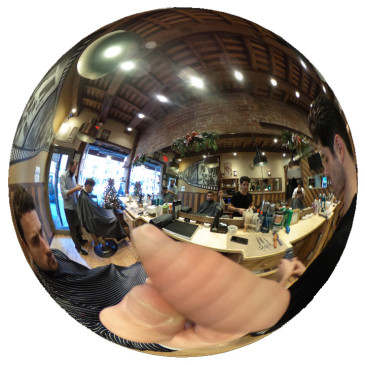 360° Haircut at Geno's Barberia in Greenwich Village