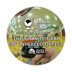 360° Video: Granite Gear 36″ Packable Wheeled Duffel Review
