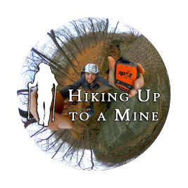 360° Video: Hiking Up To A Mine
