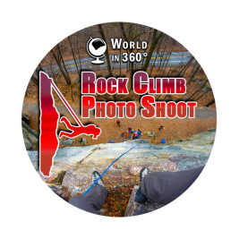360° Video: Rock Climb Photo Shoot