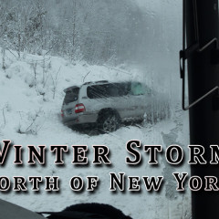 Winter Storm North of New York