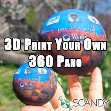 Scandy Supports World in 360: 25% Off Code 'Worldin360'