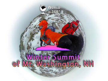 360° Film: Winter Summit Mt. Washington, NH