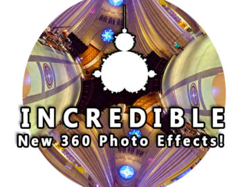 Incredible NEW 360 Photo Effects